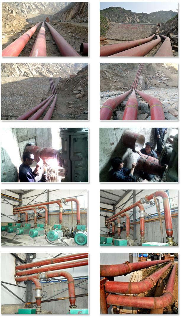 陶瓷管项目案例:山西省白峪里矿冶有限公司